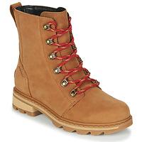 Schuhe Damen Boots Sorel LENNOX LACE Braun