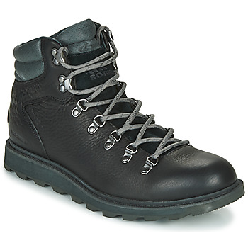 Schuhe Herren Boots Sorel MADSON HIKER II WP Schwarz
