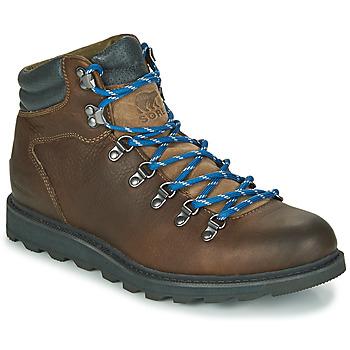 Schuhe Herren Boots Sorel MADSON HIKER II WP Braun