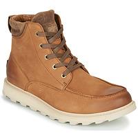 Schuhe Herren Boots Sorel MADSON II MOC TOE WP Braun