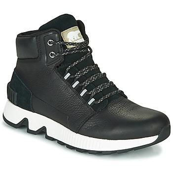 Schuhe Herren Sneaker High Sorel MAC HILL MID LTR WP Schwarz
