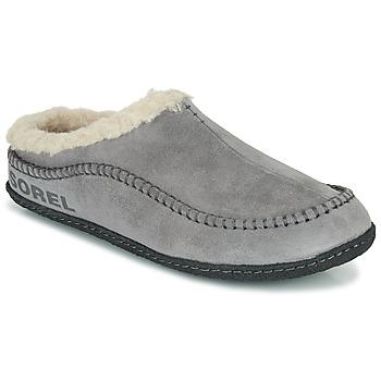 Schuhe Herren Hausschuhe Sorel LANNER RIDGE Grau