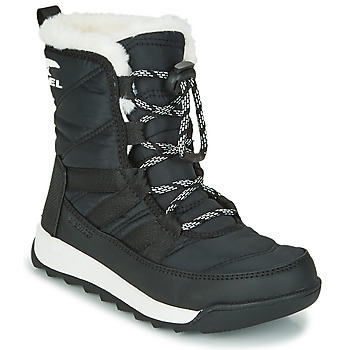 Schuhe Kinder Boots Sorel YOUTH WHITNEY™ II SHORT LACE Schwarz