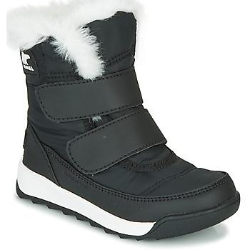 Schuhe Kinder Boots Sorel CHILDRENS WHITNEY II STRAP Schwarz