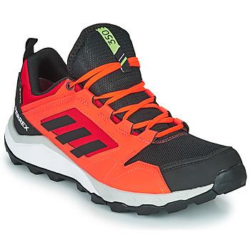 Schuhe Herren Laufschuhe adidas Performance TERREX AGRAVIC TR G Rot / Schwarz
