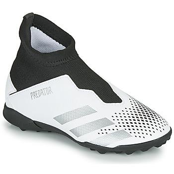 Schuhe Kinder Fußballschuhe adidas Performance PREDATOR 20.3 LL TF Weiss