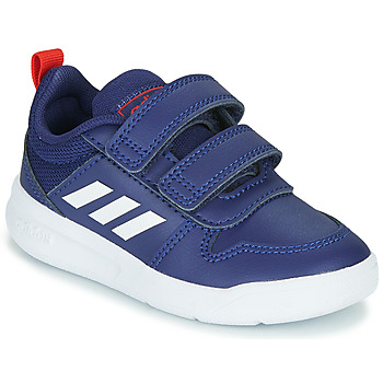 Schuhe Kinder Sneaker Low adidas Performance TENSAUR I Blau / Weiss