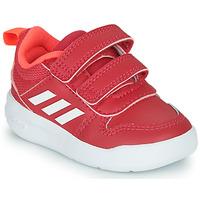 Schuhe Mädchen Sneaker Low adidas Performance TENSAUR I Rose / Weiss