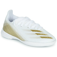 Schuhe Kinder Fußballschuhe adidas Performance X GHOSTED.3 IN J Weiss