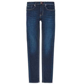 Kleidung Jungen Straight Leg Jeans Teddy Smith FLASH Blau