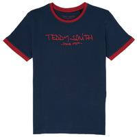 Kleidung Jungen T-Shirts Teddy Smith TICLASS 3 Marine