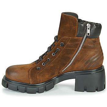 Fru.it POMPEI Braun - Kostenloser Versand |  - Schuhe Low Boots Damen 27115