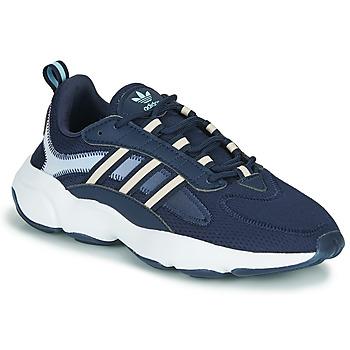 Schuhe Damen Sneaker Low adidas Originals HAIWEE W Blau / Weiss