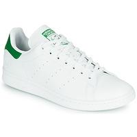 Schuhe Sneaker Low adidas Originals STAN SMITH VEGAN Weiss / Grün
