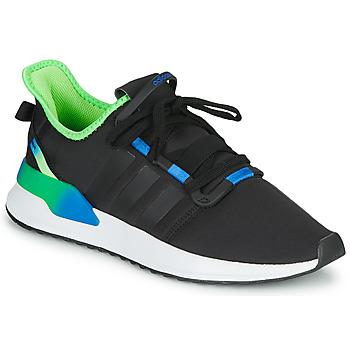 Schuhe Herren Sneaker Low adidas Originals U_PATH RUN Schwarz / Grün