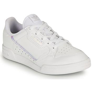 Schuhe Mädchen Sneaker Low adidas Originals CONTINENTAL 80 C Weiss