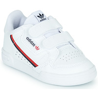 Schuhe Kinder Sneaker Low adidas Originals CONTINENTAL 80 CF I Weiss