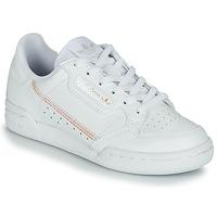 Schuhe Mädchen Sneaker Low adidas Originals CONTINENTAL 80 J Weiss