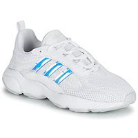 Schuhe Mädchen Sneaker Low adidas Originals HAIWEE J Weiss