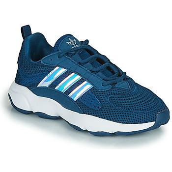Schuhe Jungen Sneaker Low adidas Originals HAIWEE J Blau