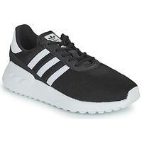 Schuhe Kinder Sneaker Low adidas Originals LA TRAINER LITE C Schwarz / Weiss