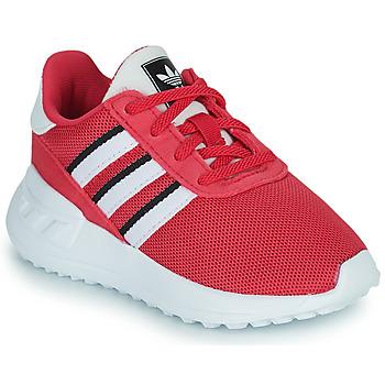 Schuhe Mädchen Sneaker Low adidas Originals LA TRAINER LITE EL Rose