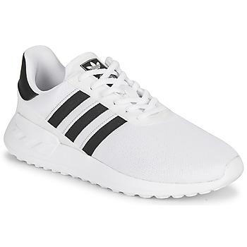 Schuhe Kinder Sneaker Low adidas Originals LA TRAINER LITE J Weiss / Schwarz