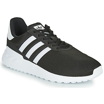 Schuhe Kinder Sneaker Low adidas Originals LA TRAINER LITE J Schwarz / Weiss