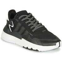 Schuhe Kinder Sneaker Low adidas Originals NITE JOGGER J Schwarz