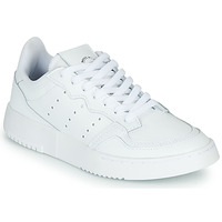 Schuhe Kinder Sneaker Low adidas Originals SUPERCOURT J Weiss