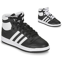 Schuhe Kinder Sneaker High adidas Originals TOP TEN J Schwarz / Weiss