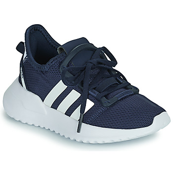 Schuhe Jungen Sneaker Low adidas Originals U_PATH RUN C Marine / Weiss