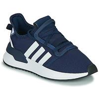 Schuhe Jungen Sneaker Low adidas Originals U_PATH RUN J Marine / Weiss