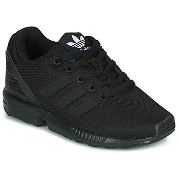 Schuhe Kinder Sneaker Low adidas Originals ZX FLUX C Schwarz