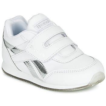 Schuhe Mädchen Sneaker Low Reebok Classic REEBOK ROYAL CLJOG Weiss / Silbern