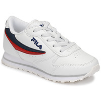 Schuhe Kinder Sneaker Low Fila ORBIT LOW KIDS Weiss / Blau