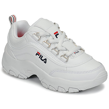 Schuhe Mädchen Sneaker Low Fila STRADA LOW KIDS Weiss