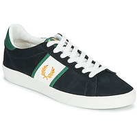 Schuhe Herren Sneaker Low Fred Perry SPENCER SUEDE / TIPPING Blau