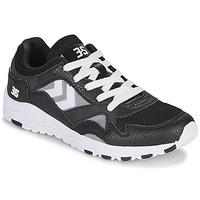 Schuhe Herren Sneaker Low Hummel EDMONTON 3S LEATHER Schwarz