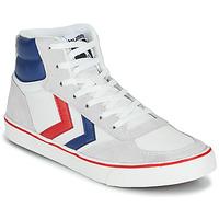 Schuhe Sneaker High Hummel STADIL HIGH OGC 3.0 Weiss / Blau / Rot