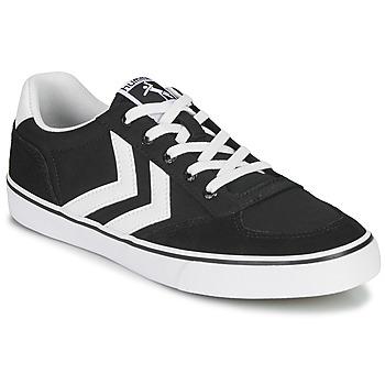 Schuhe Sneaker Low Hummel STADIL LOW OGC 3.0 Schwarz / Weiss