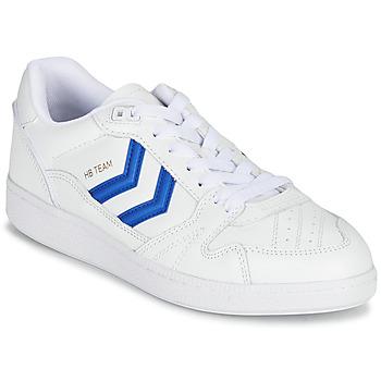 Schuhe Sneaker Low Hummel HB TEAM Weiss / Blau