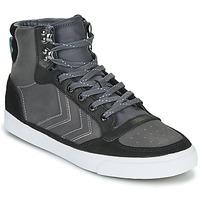 Schuhe Sneaker High Hummel STADIL WINTER Schwarz / Grau