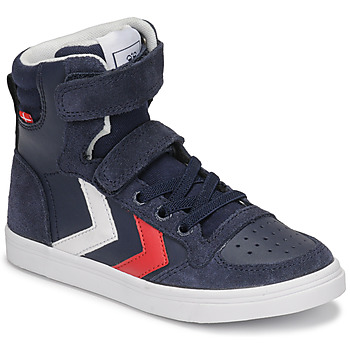 Schuhe Kinder Sneaker High Hummel SLIMMER STADIL HIGH JR Blau