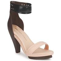 Schuhe Damen Sandalen / Sandaletten Melissa NO 1 PEDRO LOURENCO Beige / Braun