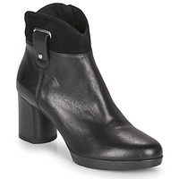 Schuhe Damen Low Boots Geox ANYLLA MID Schwarz