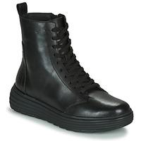 Schuhe Damen Boots Geox PHAOLAE Schwarz