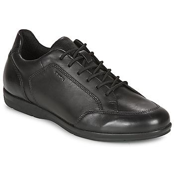 Schuhe Herren Derby-Schuhe Geox ADRIEN Schwarz