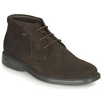 Schuhe Herren Boots Geox BRAYDEN 2FIT ABX Braun