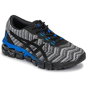 Schuhe Kinder Sneaker Low Asics GEL-QUANTUM 180 5 GS Grau / Schwarz / Blau